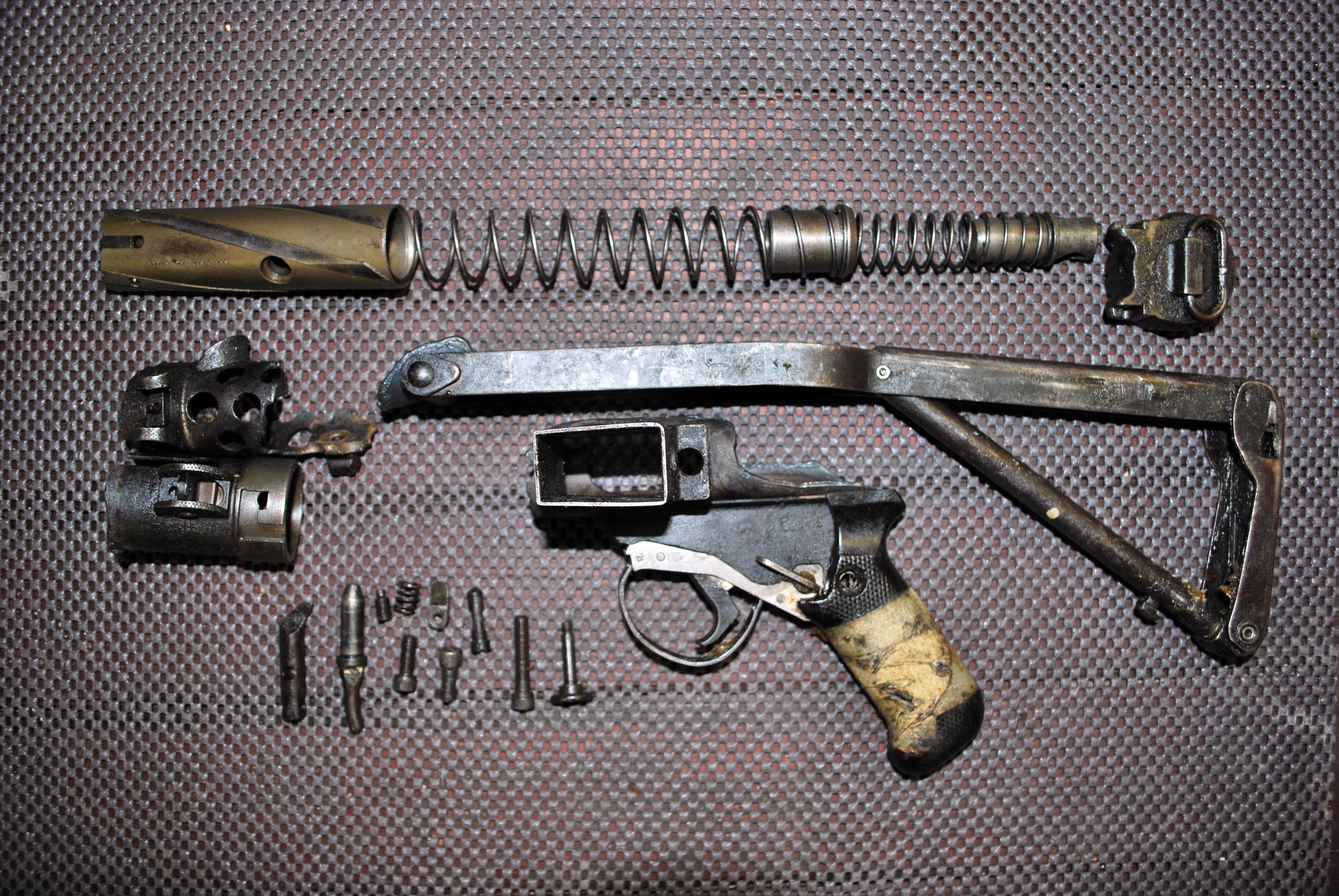 L2A3 Sterling SMG Parts Kit